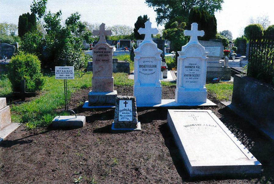 Jászberény - síremlék felújítás